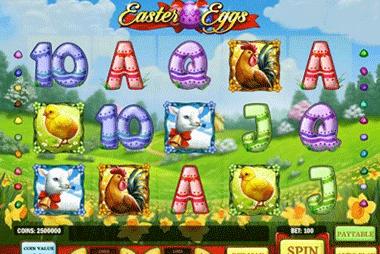 Easter Eggs tragamonedas