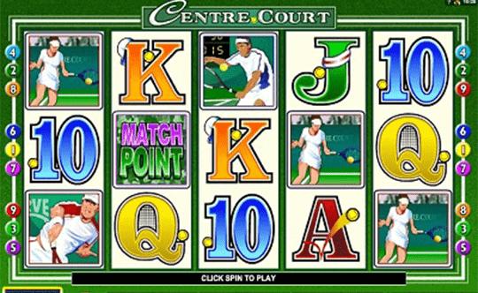tragaperras Centre Court