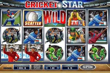 tragaperras Cricket Star