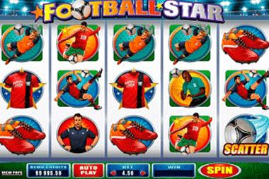 Football Star tragamonedas