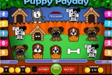Tragaperras Puppy PayDay