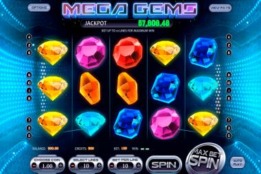 Tragaperras Mega Gems