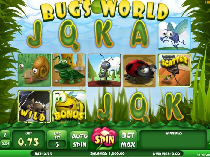 bugs world iframe