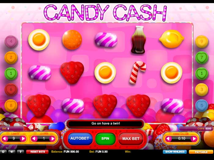 candy cash iframe