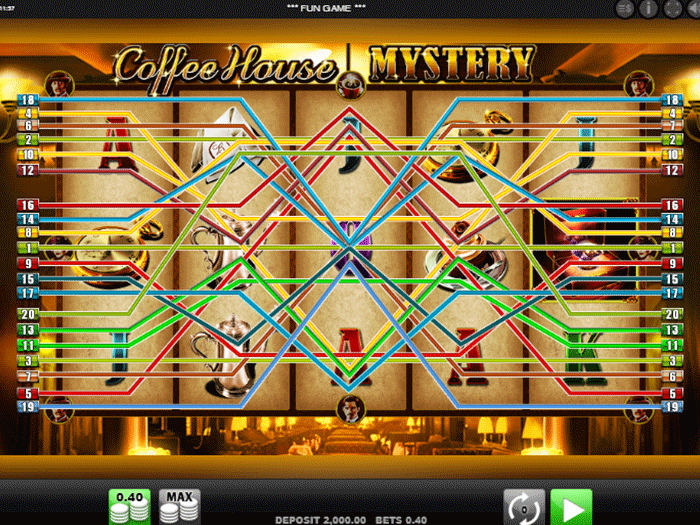 coffee house mystery iframe