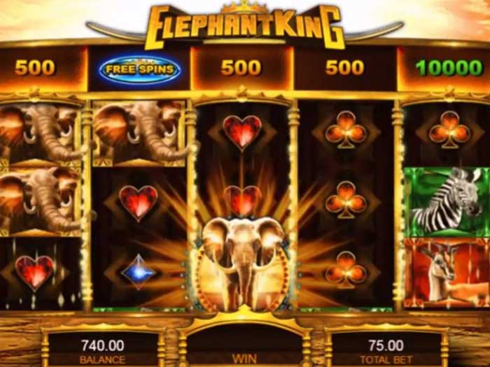 elephant king iframe