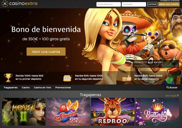 Casino Extra codigo promocional