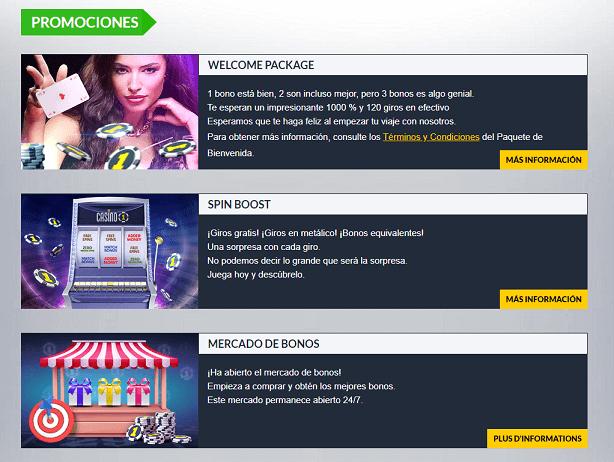 casino1 promociones