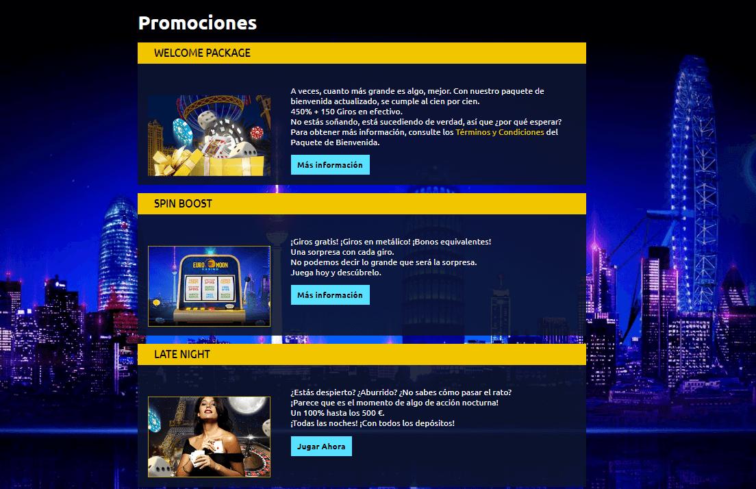 promociones euromoon