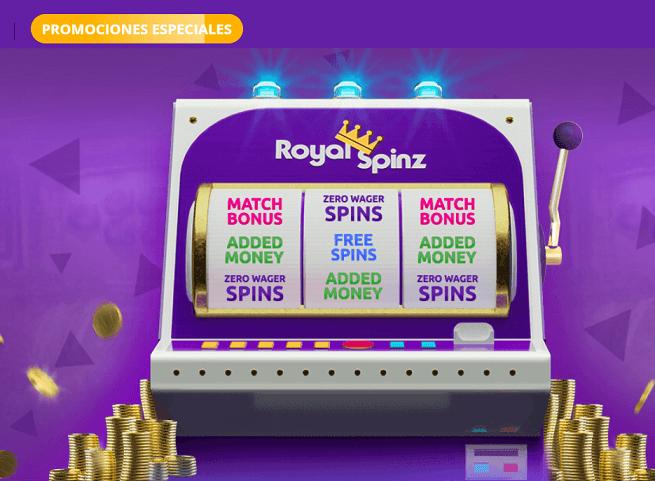 royal spinz promociones