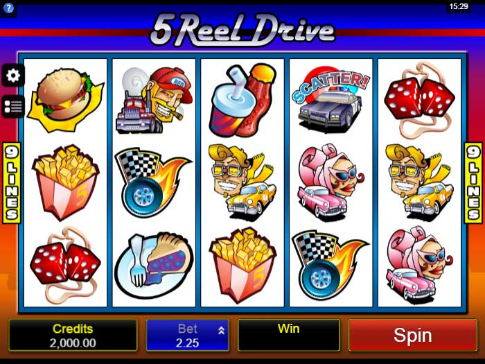 5 reel drive iframe