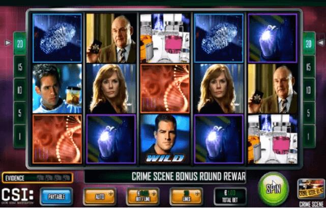 Tragaperras CSI Crime Scene Investigation