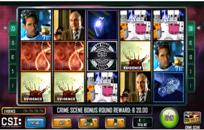 Slot CSI Crime Scene Investigation