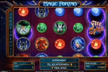 Tragaperras Magic Portals