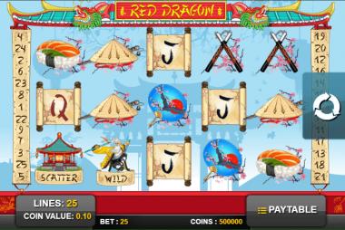 Tragaperras Red Dragon