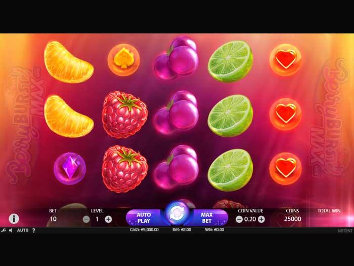 berryburst max iframe