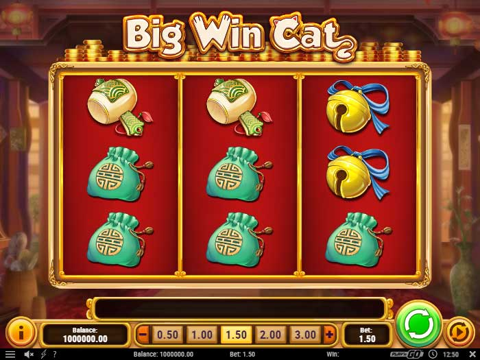 big win cat iframe