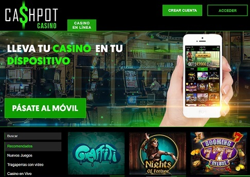 cashpot casino movil