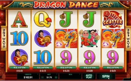slot dragon dance