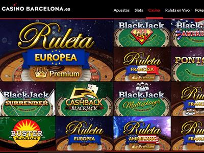 casino barcelona juegos