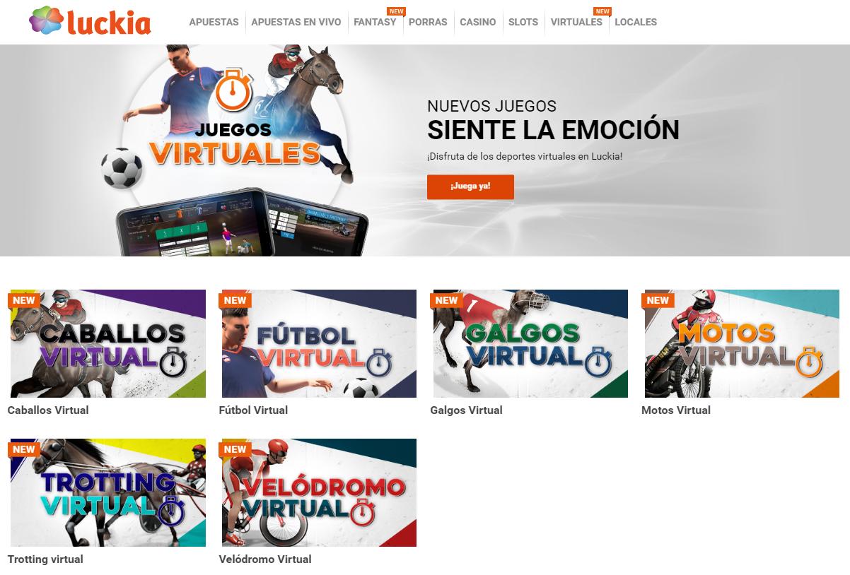 luckia juegos virtuales