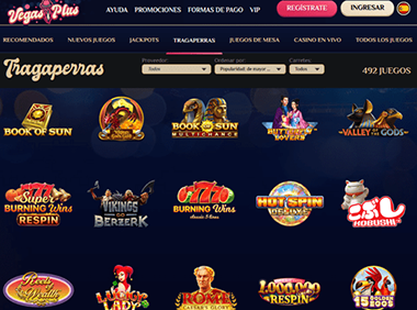 Vegasplus slots