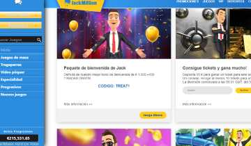 Jack Million Codigo Promocional