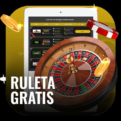 Jugar a la ruleta gratis en casinos online