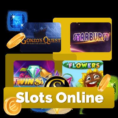Slots online en casinos de inertnet