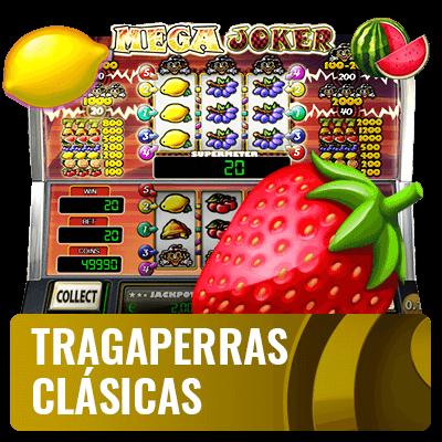 tragaperras clasicas para jugar en casinos online