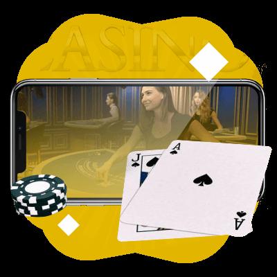 Blackjack en vivo España