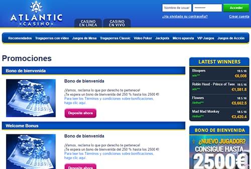 atlantic casino promociones