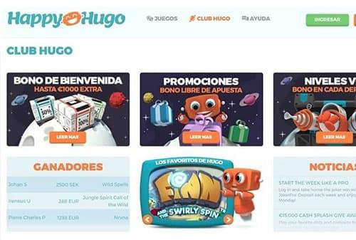 happy hugo promociones