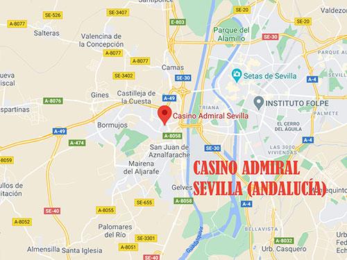 casino admiral sevilla andalucía